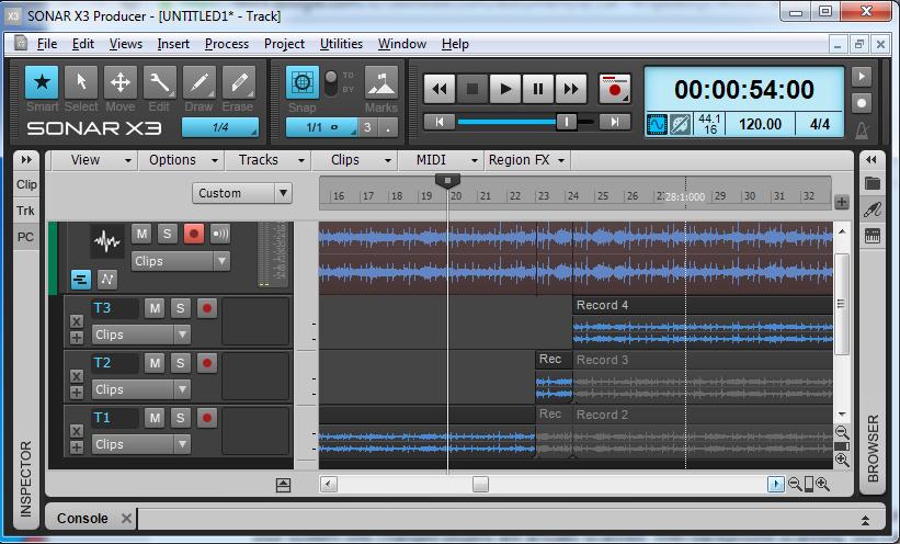 4.音軌概念-靜音、獨奏、音軌顏色、播放工程、循環播放、切換視窗模式