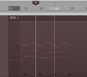 1.開啟鋼琴音色、合成器音色,錄音