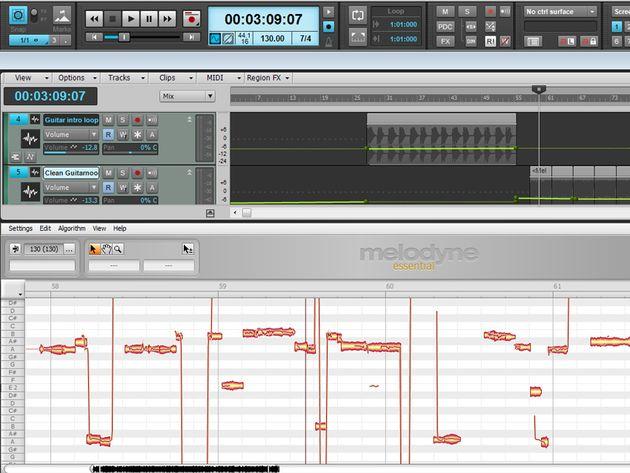 3.手動校正不準的聲音,學習設定 Scale Snap、Chromatic Snap 不同的校正模式 。