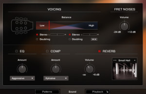6.吉他音色細節調整,學習EQ、Rever回音、場景更換、刷弦把位更換