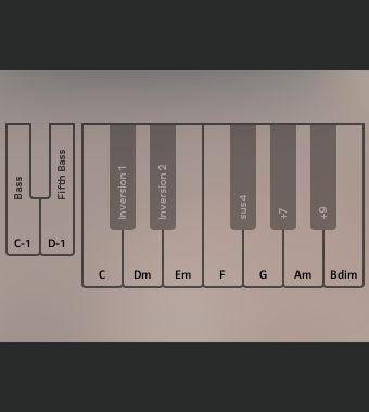 8.如果彈琴對你很難,我們就用自動伴奏鋼琴吧!