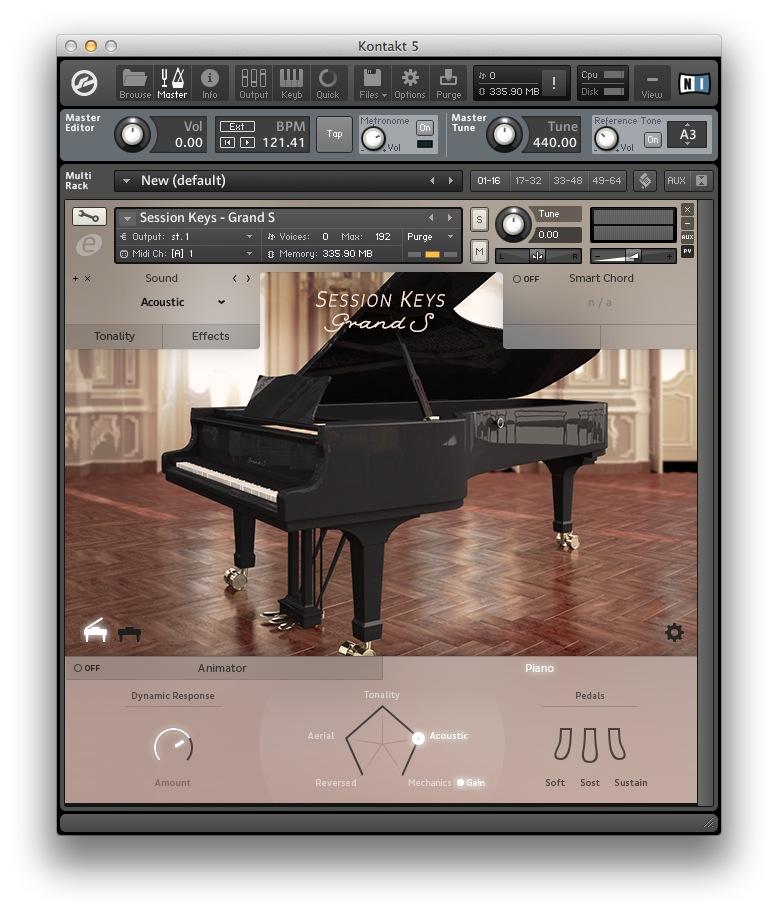 6.令人感動的鋼琴音色 Session Key